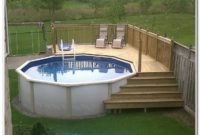 Swimming Pool Deck Ideas Above Ground