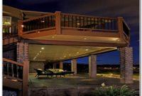 Under Rail Deck Lighting Ideas