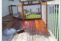Wood Deck Stain Color Ideas