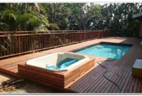 Wooden Deck Designs For Above Ground Pools