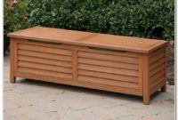 Wooden Deck Storage Box Plans