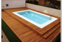 Wooden Pool Deck Kits