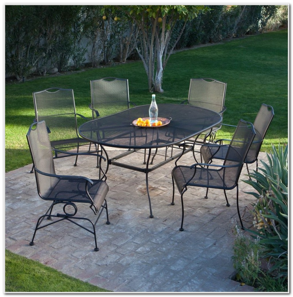 Wrought Iron Outdoor Furniture Sets