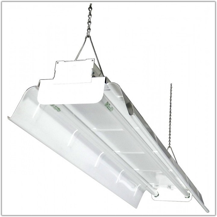 2 Lamp T8 Industrial Fixture