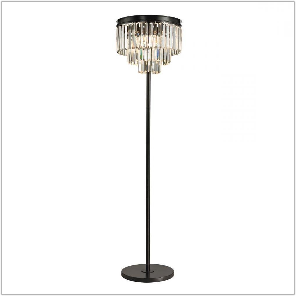 3 Light Floor Lamp Rubbed Bronze