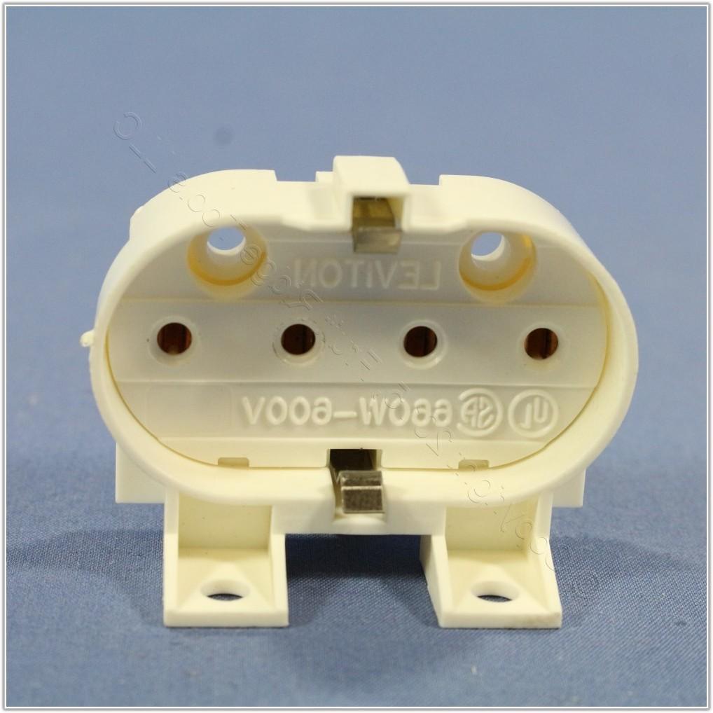 4 Pin Fluorescent Lamp Socket