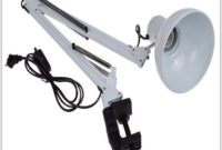 Adjustable Swing Arm Desk Lamp
