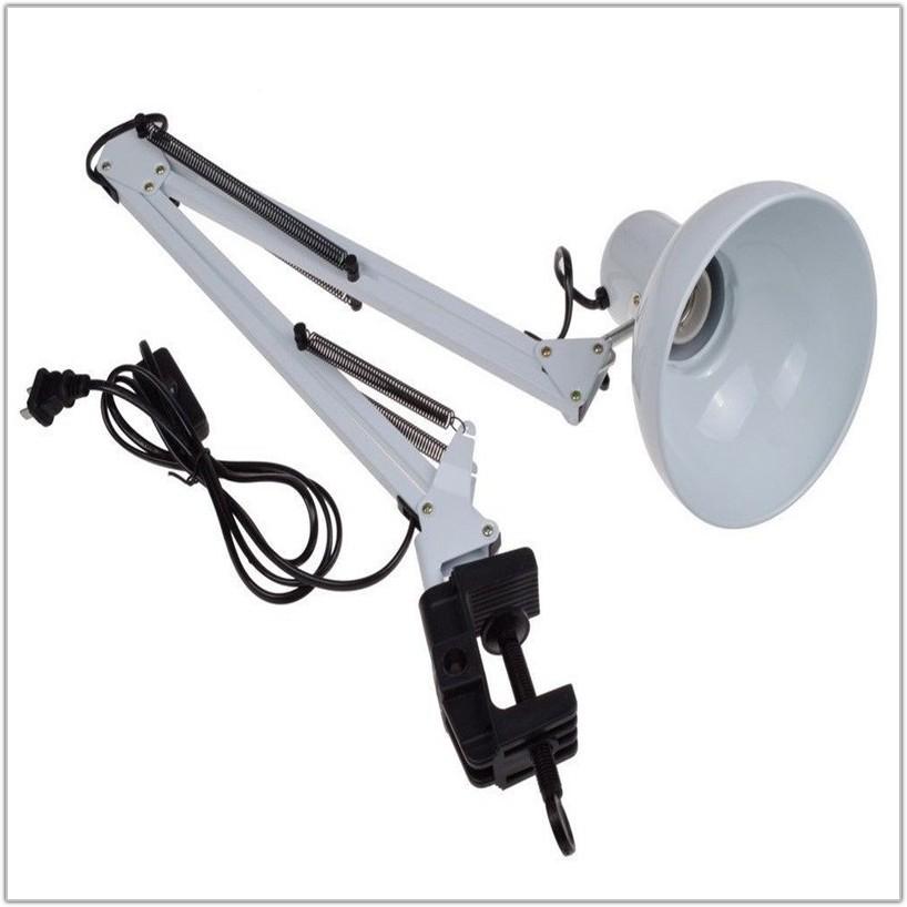 Adjustable Swing Arm Desk Lamp