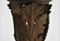 Antique Floor Lamp Shade Holder