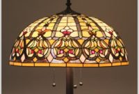 Antique Glass Floor Lamp Shades