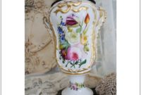 Antique Hand Painted Table Lamps