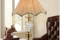 Antique Milk Glass Table Lamps