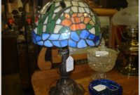 Antique Stained Glass Table Lamps