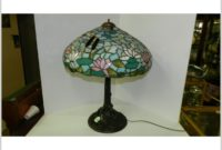 Antique Tiffany Style Lamp Base