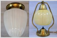Art Deco Glass Table Lamp Shades