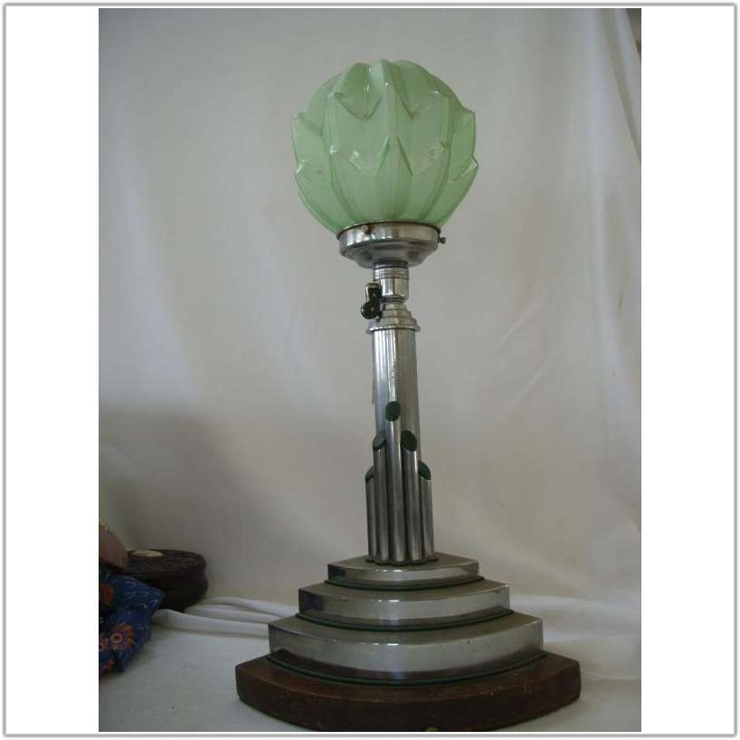 Art Deco Table Lamps Ebay