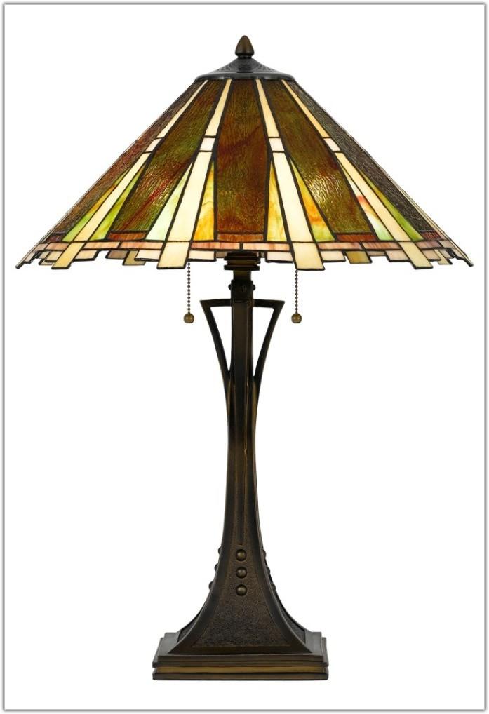 Art Glass Table Lamp Shade