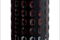 Black And Red Lamp Shades