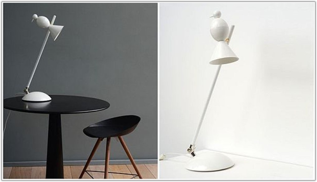 Black And White Modern Table Lamp
