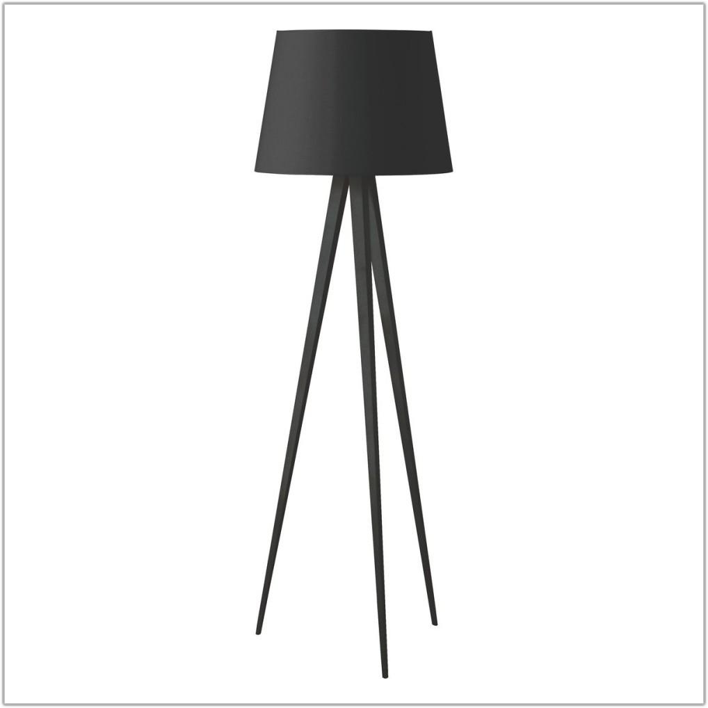 Black Tripod Floor Lamp Base