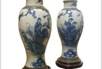 Blue And White China Lamps