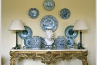 Blue And White China Table Lamps