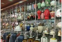 Blue And White Chinese Lamps