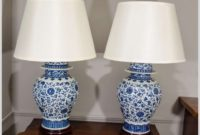 Blue And White Lamps Chinese
