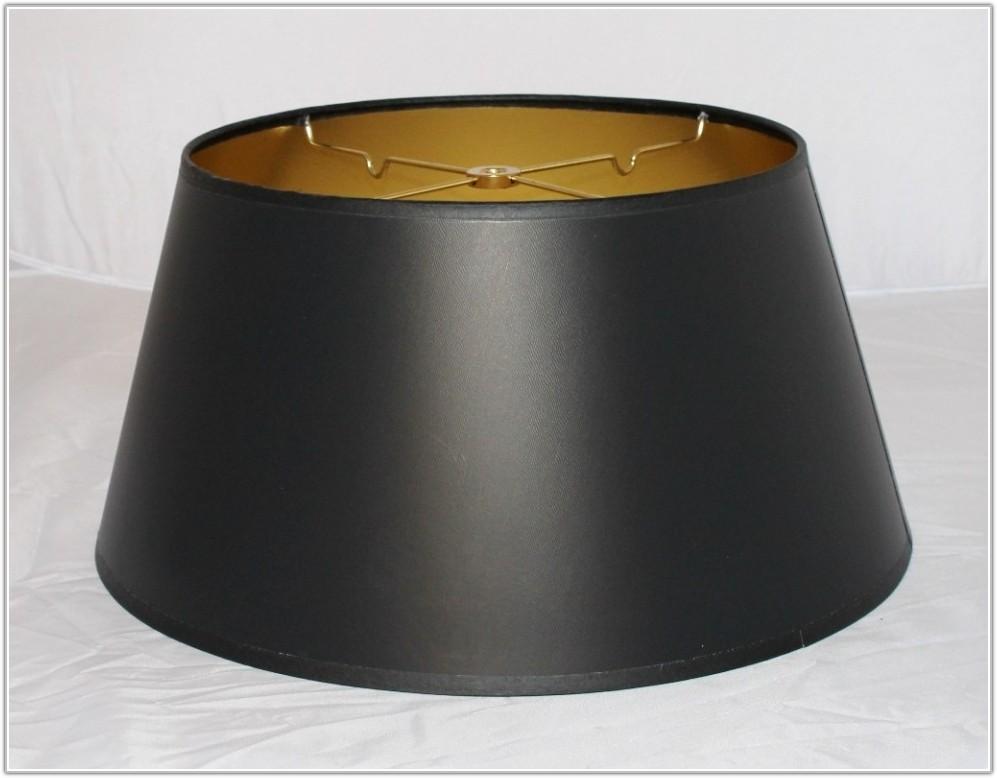 Bouillotte Black Paper Lamp Shade
