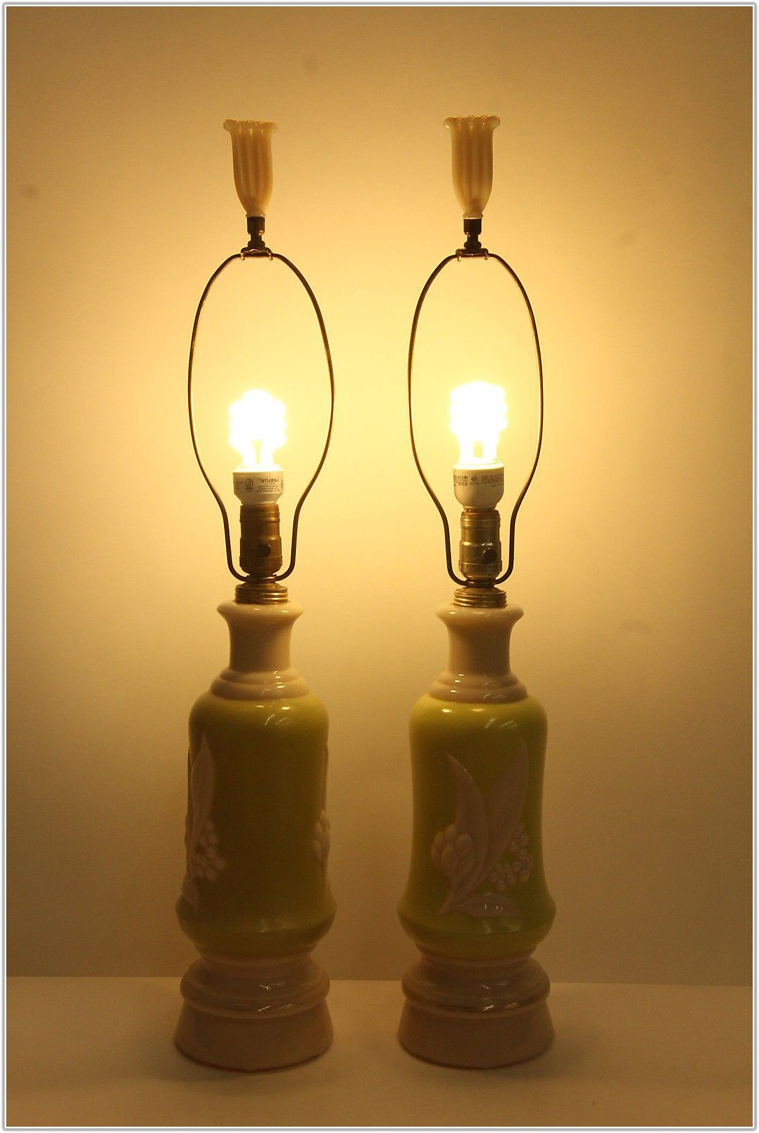 Brass 3 Way Table Lamps