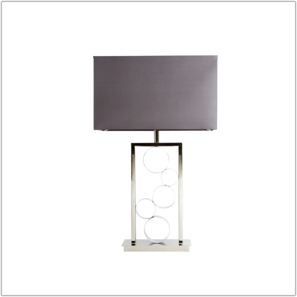 Casa Couture Lawrence Polished Nickel Table Lamp