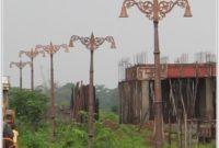 Cast Iron Lamp Post India