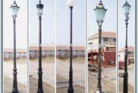 Cast Iron Street Light Post