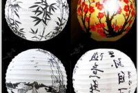 Chinese Paper Lantern Lamp Shades