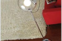 Clear Glass Ball Floor Lamp