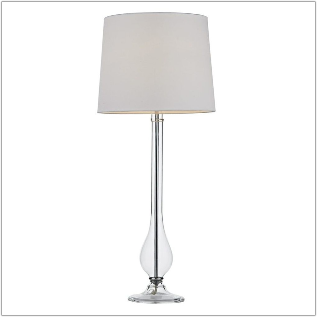 Clear Glass Table Lamps Fillable