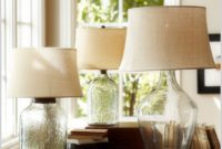 Clift Glass Table Lamp Base Clear