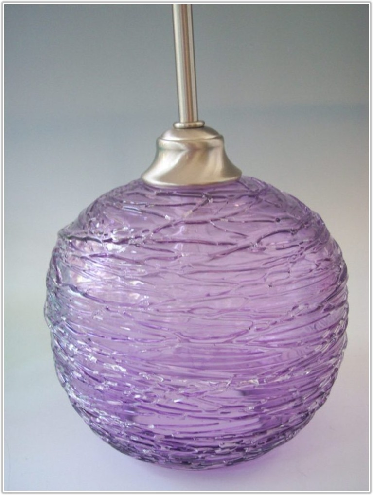 Contemporary Table Lamps With Glass Shades
