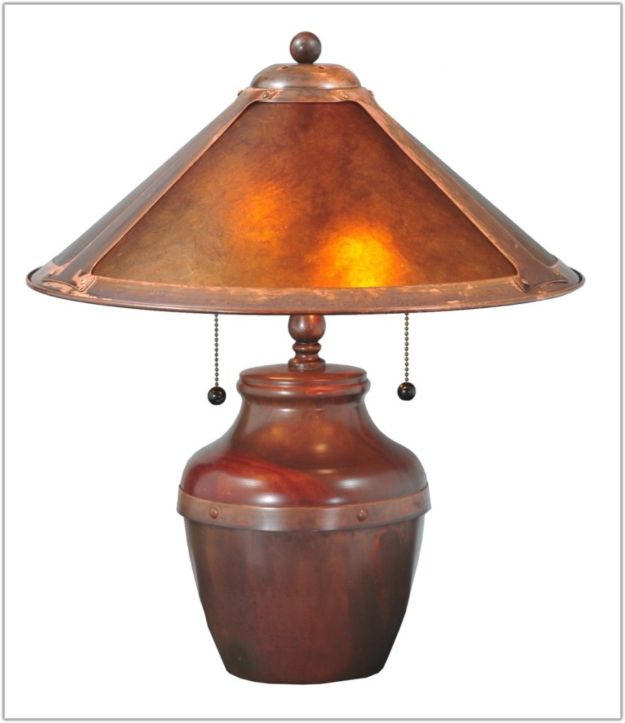 Craftsman Mission Style Table Lamps