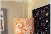 Diy Lamp Shade Hanging Light
