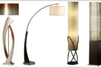 Downbridge Mercury Glass Floor Lamp