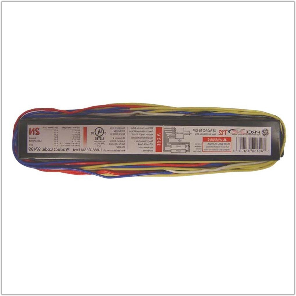Electronic Ballast 4 Lamp T12