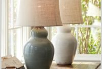 Evelyn Ceramic Table Lamp Base