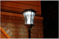 Exterior Solar Lamp Post Lights