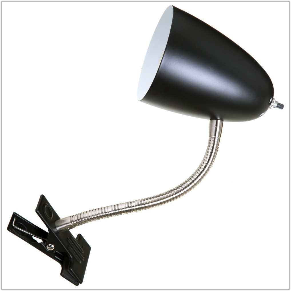Flexible Clip On Table Lamp