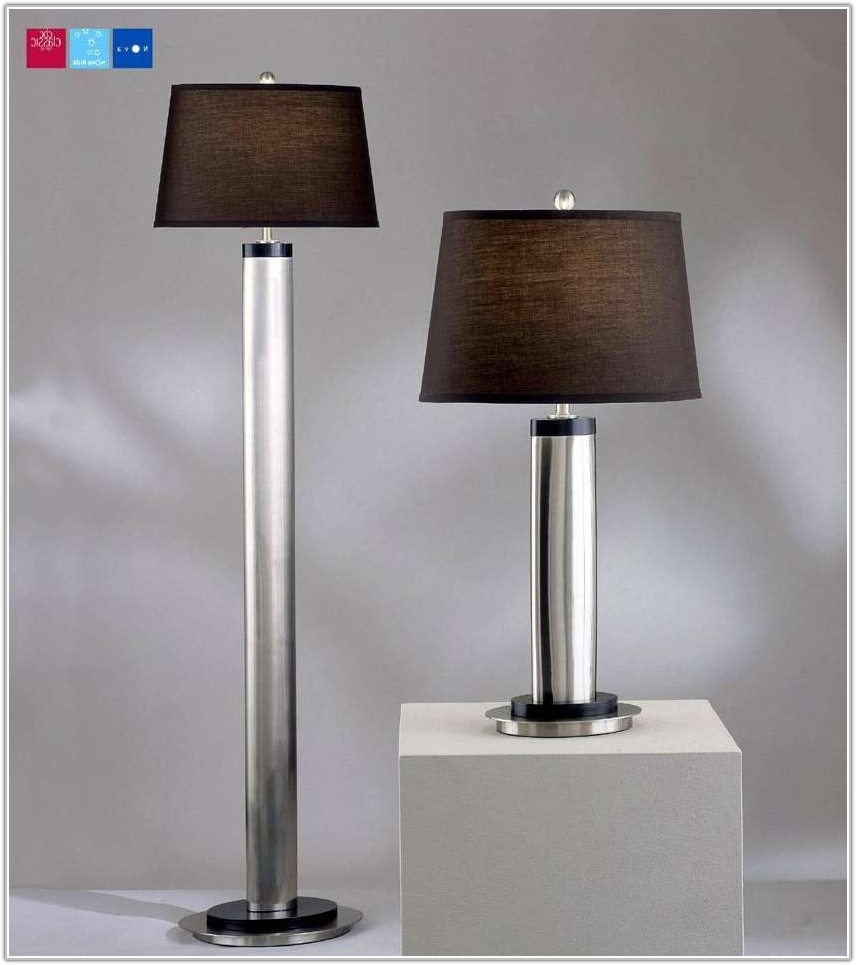 Floor Lamp With Matching Table Lamp