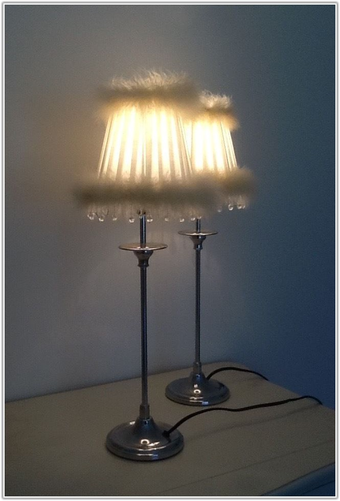 French Style Shabby Chic Table Lamps