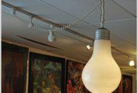 Giant Light Bulb Hanging Lamp