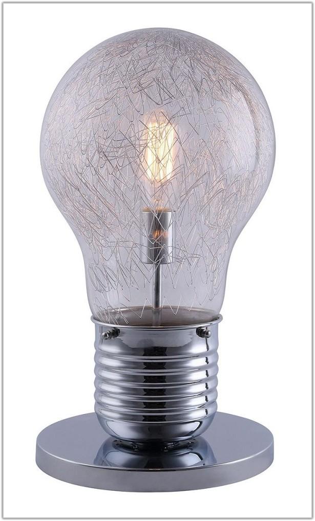 Giant Light Bulb Shaped Lamp