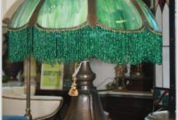 Green Stained Glass Table Lamps